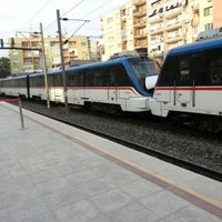 Photo taken at İzban Naldöken İstasyonu by Hatice Hotarlıoglu Y. on 11/16/2012