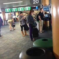 Photo taken at Gate 20 by Angelo R. on 11/11/2013