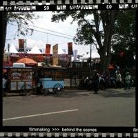 Photo taken at Lapangan Gasibu by ovan K. on 10/13/2012