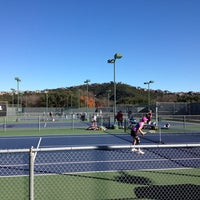 Photo taken at Courtyard Tennis Center by Lizzy L. on 12/15/2013