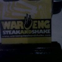 Photo taken at Waroeng Steak & Shake by Herman S. on 5/14/2013