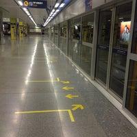 Photo taken at MRT Chatuchak Park (CHA) by Rynn R. on 5/18/2013
