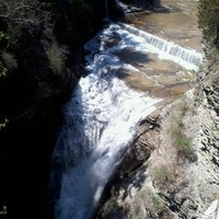 Photo taken at Taughannock Falls State Park by Nicki C. on 5/2/2013