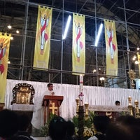 Photo taken at Santuario de San Pedro Bautista Parish by Guen M. on 4/4/2015
