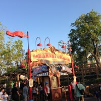 Photo taken at The Barnstormer by Thomas M. on 4/1/2013
