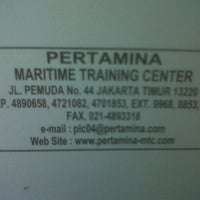 Photo taken at Pertamina Maritime Training Center by deean a. on 3/21/2013