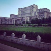 Photo taken at Palatul Parlamentului by Leandro F. on 6/9/2013