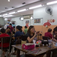 Photo taken at Restoran Super Kitchen Chilli Pan Mee by Patrick C. on 11/24/2012