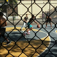 Photo taken at West 4th Street Courts (The Cage) by Tariq A. on 9/4/2016