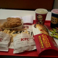 Photo taken at KFC by Alexandra Z. on 6/30/2013