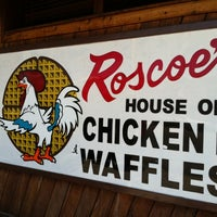 Photo taken at Roscoe's House of Chicken and Waffles by Jon Carlo A. on 8/9/2011