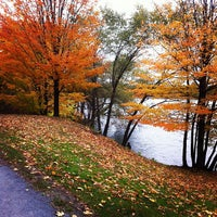 Photo taken at Jamaica Pond by Steve G. on 10/29/2011
