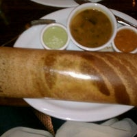 Photo taken at Dosa by Elizabeth N. on 12/20/2011
