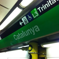 Photo taken at METRO Catalunya by Christian S. on 8/30/2011
