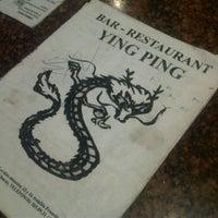 Photo taken at Restaurant Ying Ping by Juan M. on 1/7/2012