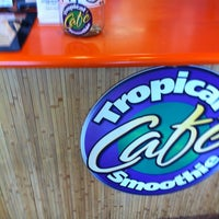 Photo taken at Tropical Smoothie Café by Susanna M. on 7/20/2012