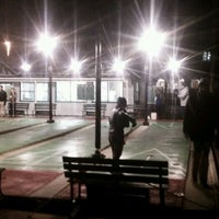 Photo taken at St. Petersburg Shuffleboard Club by Lee P. on 1/21/2012