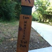 Photo taken at Sam Houston Trails Park by Pam B. on 5/28/2012