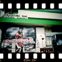 Photo taken at Jagadamba Theater by Ravik R. on 1/28/2012