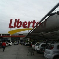 Photo taken at Hipermercado Libertad by Federico D. on 12/24/2011