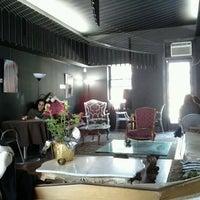 Photo taken at Linger Cafe & Lounge by Akshay P. on 3/19/2011
