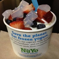 Photo taken at NuYo Frozen Yogurt by Yvette G. on 6/30/2012
