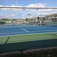 Photo taken at Austin High Tennis Center by Jonathan B. on 5/12/2012