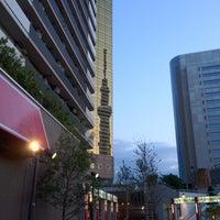 Photo taken at リバーピア吾妻橋 by nama e. on 6/30/2012