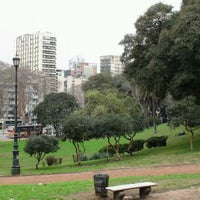 Photo taken at Plaza Barrancas de Belgrano by Néstor S. on 8/21/2012