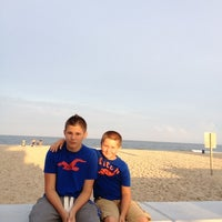 Photo taken at 22nd Street Beach by Rob M. on 8/1/2012