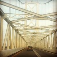 Photo taken at Chesapeake Bay Bridge by Nicole F. on 6/14/2012