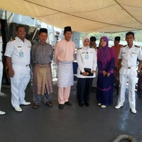 Photo taken at Royal Malaysian Navy, Sepanggar by helmi a. on 8/19/2012