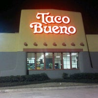 Photo taken at Taco Bueno by Daniel T. on 3/11/2011