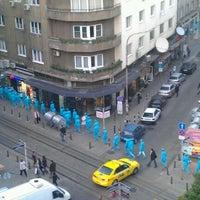 Photo taken at пл. Славейков (Slaveykov Sq.) by Alexander I. on 10/6/2011