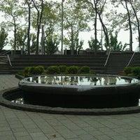 Photo taken at Vietnam Veterans Memorial Plaza by Angel F. on 9/24/2011
