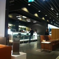 Photo taken at Lufthansa First Class Lounge by Michael G. on 10/27/2011