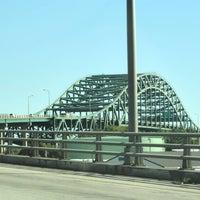 Photo taken at Piscataqua River Bridge by Lisa L. on 7/2/2012