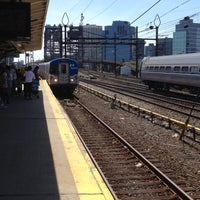 Photo taken at PATH - Harrison Station by Richard P. on 5/12/2012