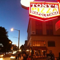 Photo taken at Tony's Pizza Napoletana by Neil S. on 7/7/2012