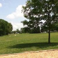 Photo taken at Peachers Mill Park by Kayla L. on 5/5/2012