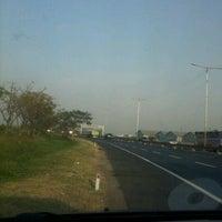 Photo taken at Tol Surabaya - Gresik by Imam Arief W. on 8/1/2012