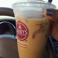 Photo taken at Saxbys Coffee by Akaninyene I. on 7/31/2012