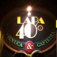 Photo taken at Lapa 40 Graus by Ronaldo S. on 6/2/2012