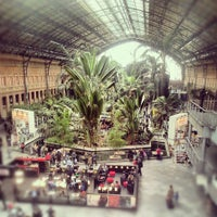 Photo taken at Estación de Madrid-Puerta de Atocha by Catherine M. on 4/30/2013