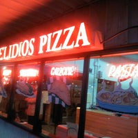 Photo taken at Elidios' Pizza by Jessica H. on 1/31/2013