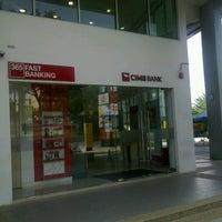 Photo taken at CIMB Bank by ƧaTya Ƨ. on 10/27/2012