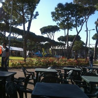 Photo taken at Foro Italico by Manuela R. on 6/13/2013