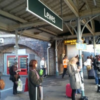 Photo taken at Lewes Railway Station (LWS) by Vladislav D. on 11/4/2012