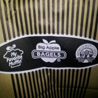 Photo taken at Big Apple Bagels by Leah B. on 11/16/2012