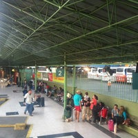 Photo taken at Terminal de Buses Santiago by Rodrigo G. on 4/14/2013